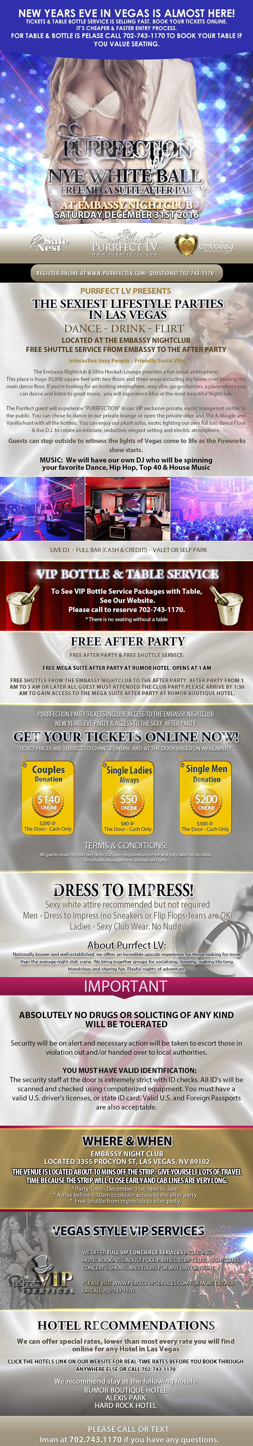 New Years Eve Party Las Vegas