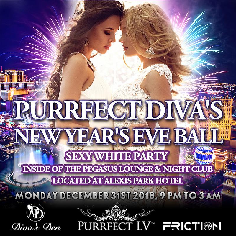 NYE 2018 Sexy White Ball Lifestyle Party Las Vegas